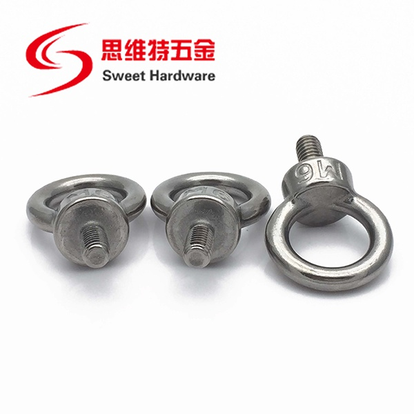 SS316 A4 Stainless Steel Lifting Towing Round Eye Bolt DIN580