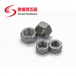 304 stainless steel carbon steel manufacture price M1.4-M30 standard din 934 hex nut