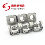 Steel and Stainless Steel Cage Nut for lock panel