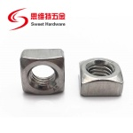 DIN557 Carbon Steel Galvanized Square Nuts Stainless steel 304 nuts