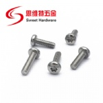 18/8 Stainless Steel Torx drive pan head security machine screws