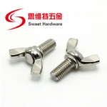 304 stainless steel wing bolt DIN316 zinc plated screw M4M5M6M8M10