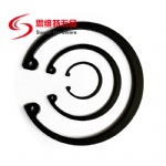 Spring steel retaining ring for bores DIN472 in black 65Mn lower price